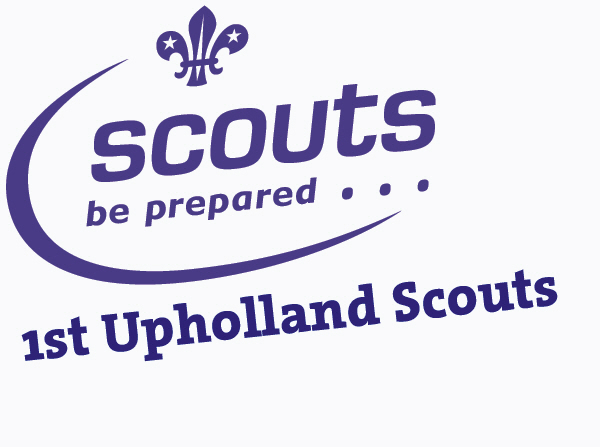 1st Upholland  Scouts Logo